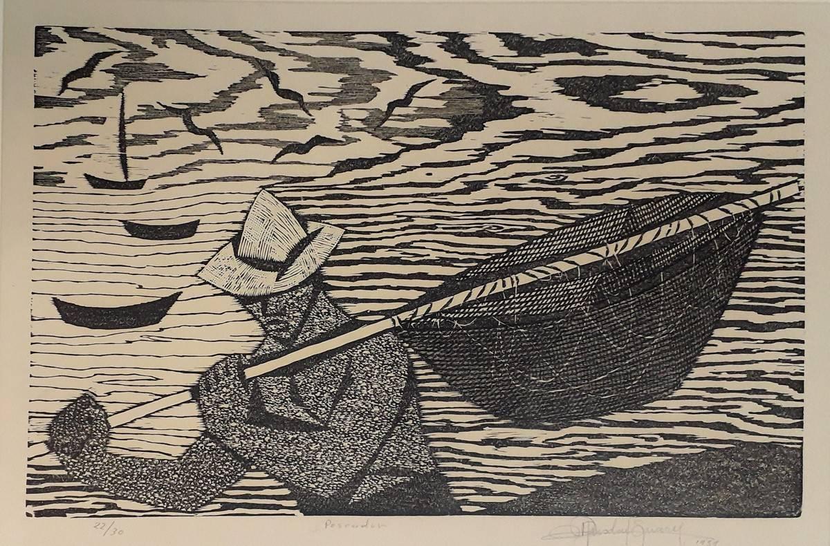 Obra ampliada: Pescador - Ruisdael Suárez