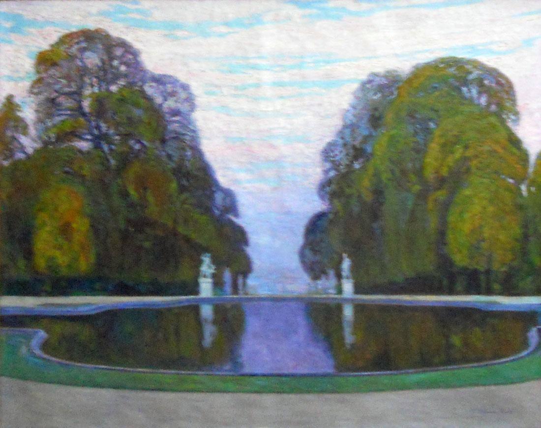 Obra ampliada: Jardín de Saint Cloud - Pedro Blanes Viale