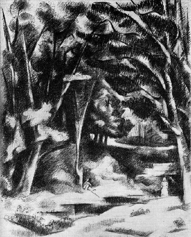 Obra ampliada: Paisaje - Miguel Ángel Pareja