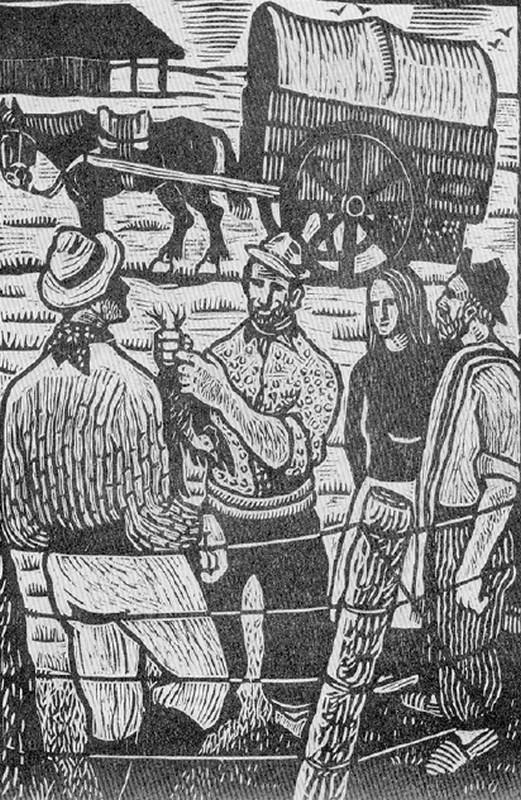 Obra ampliada: Ilustraciones para 'El paisano Aguilar' - José Lanzaro