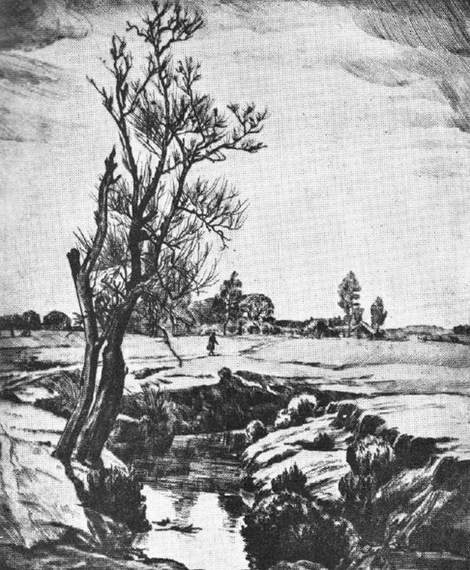 Obra ampliada: Invernal - Domingo De Santiago