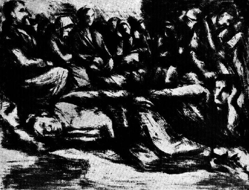 Obra ampliada: Los desplazados - Andrés Feldman