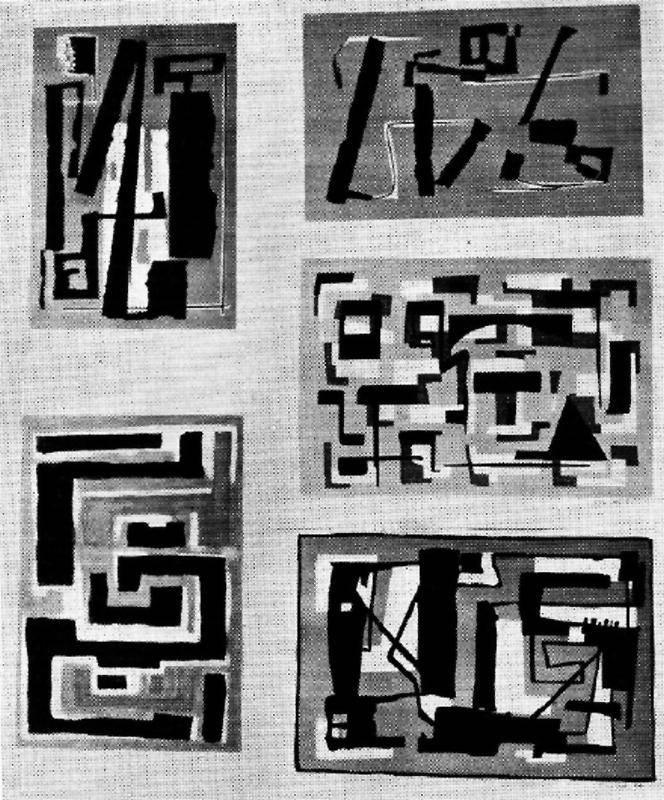 Obra ampliada: Ilustraciones para una carpeta de reproducciones - Israel Raúl Pavlotzky