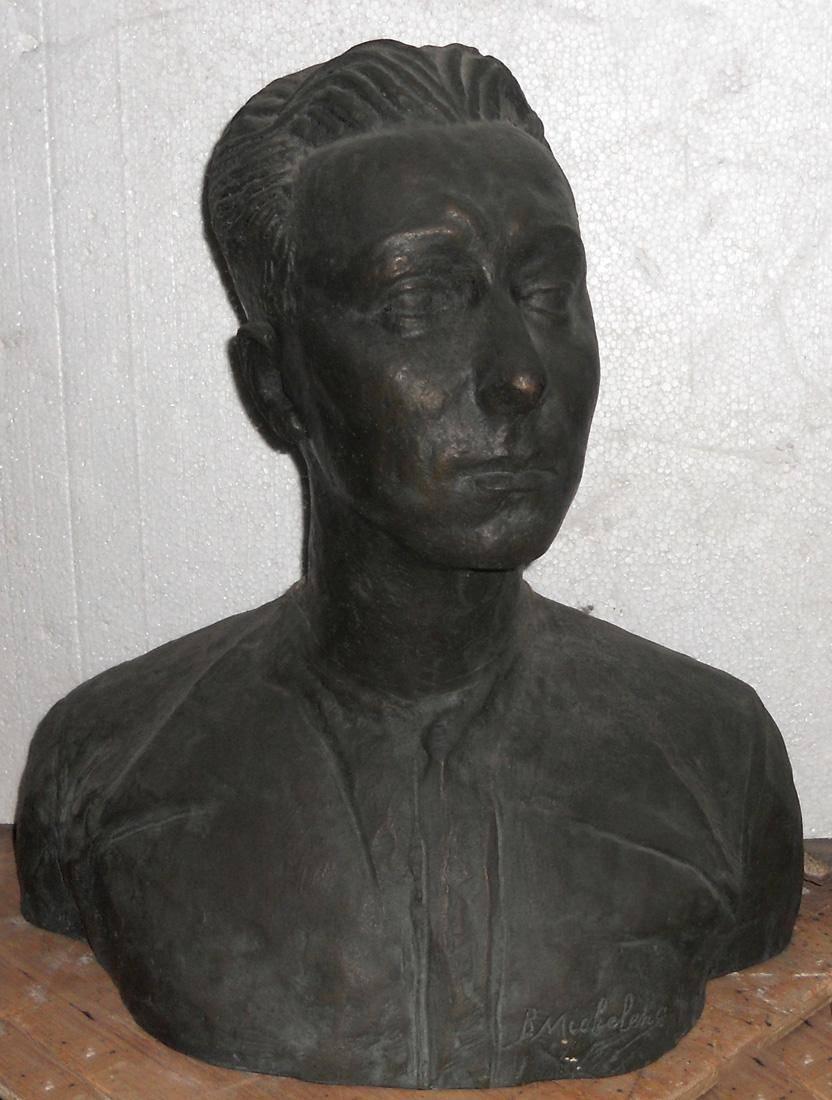 Obra ampliada: Busto de Adolfo Pastor - Bernabé Michelena