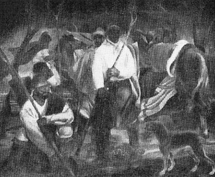 Obra ampliada: Los changadores - José María Pagani