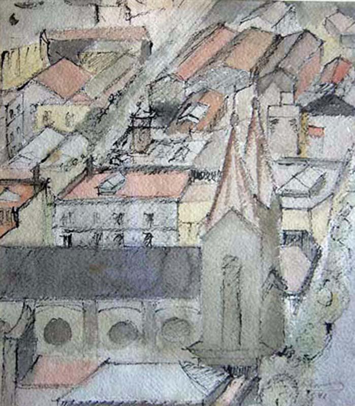 Obra ampliada: Iglesia de los vascos - Juan Carlos Demarco