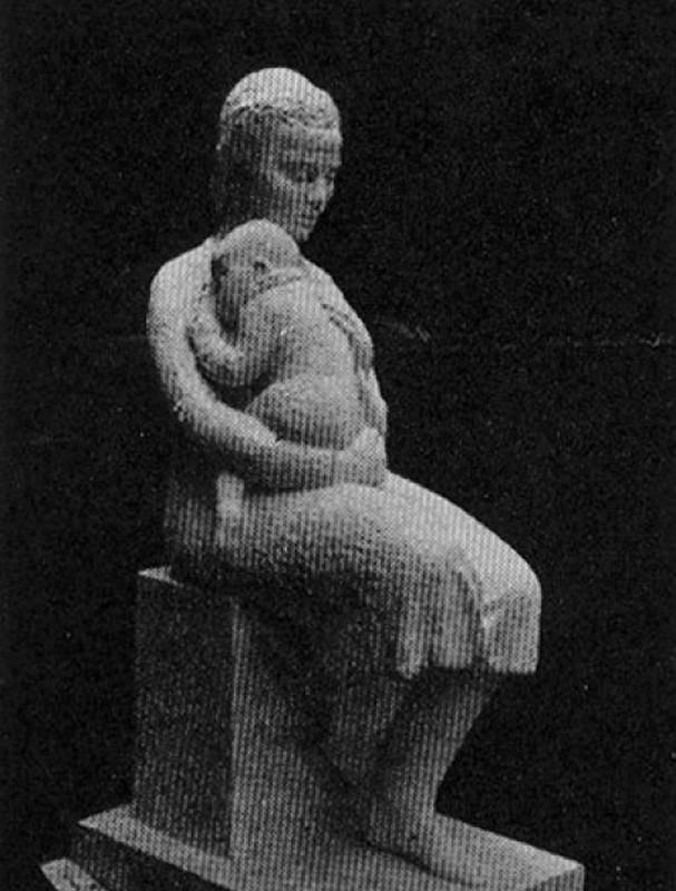 Obra ampliada: Maternidad - Aurora Togores