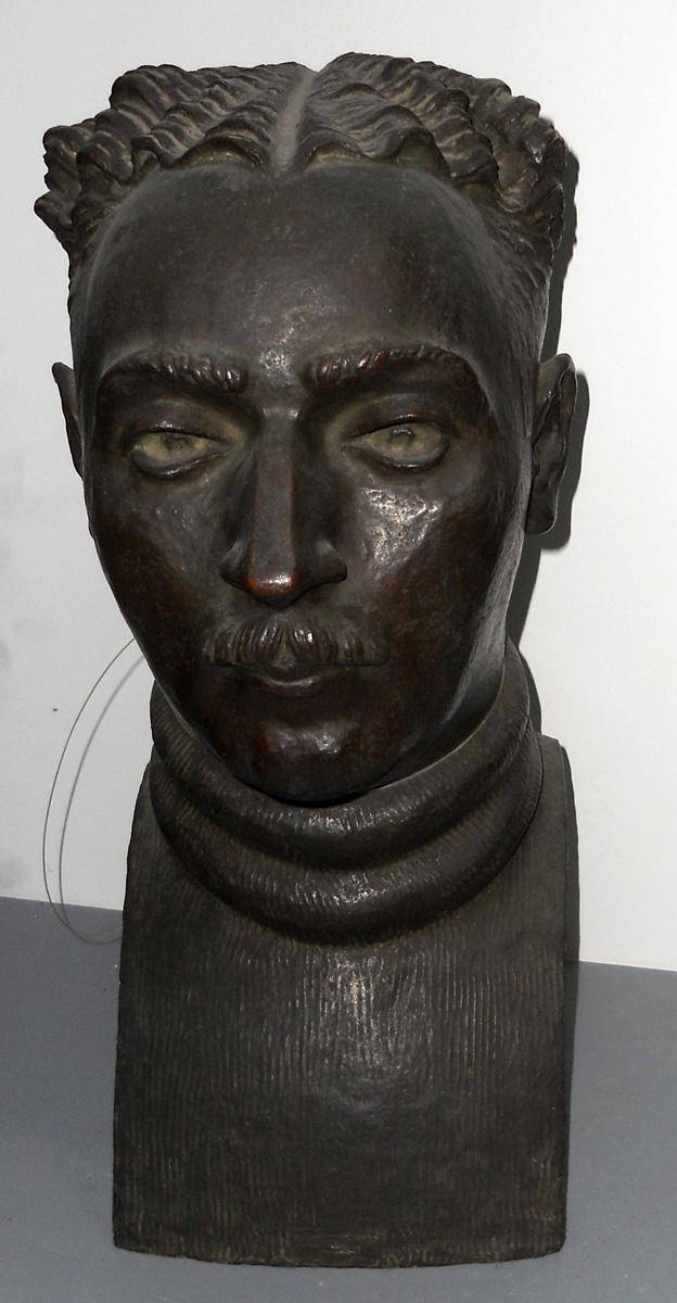 Obra ampliada: Cabeza  (pintor Elio Eros Vitali) - Dante Contestábile
