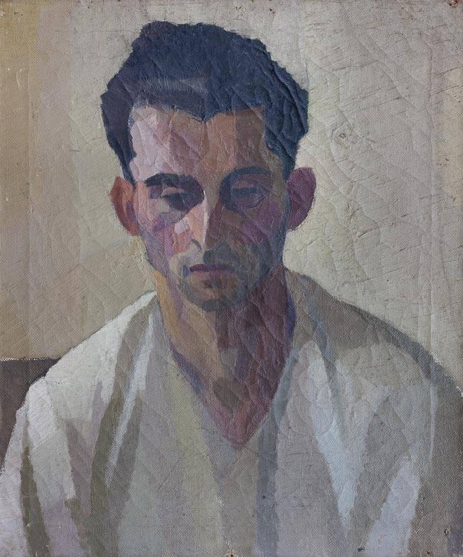 Obra ampliada: Cabeza de hombre - Gilberto Bellini