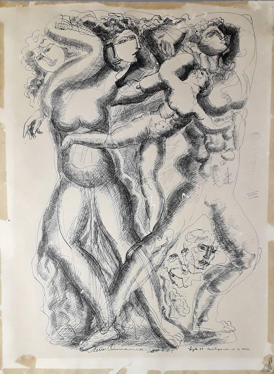 Obra ampliada: Desintegración de la vida - Nerses Ounanian