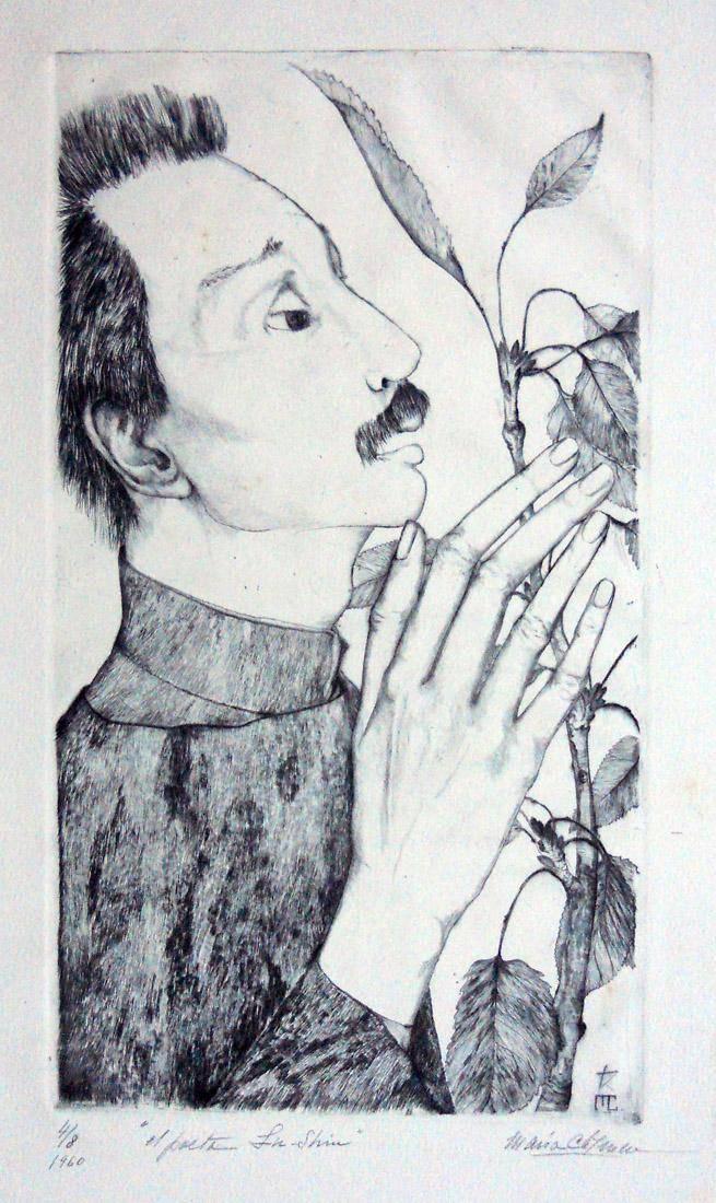 Obra ampliada: El poeta Lu-Shin - María Carmen Portela de Sosa