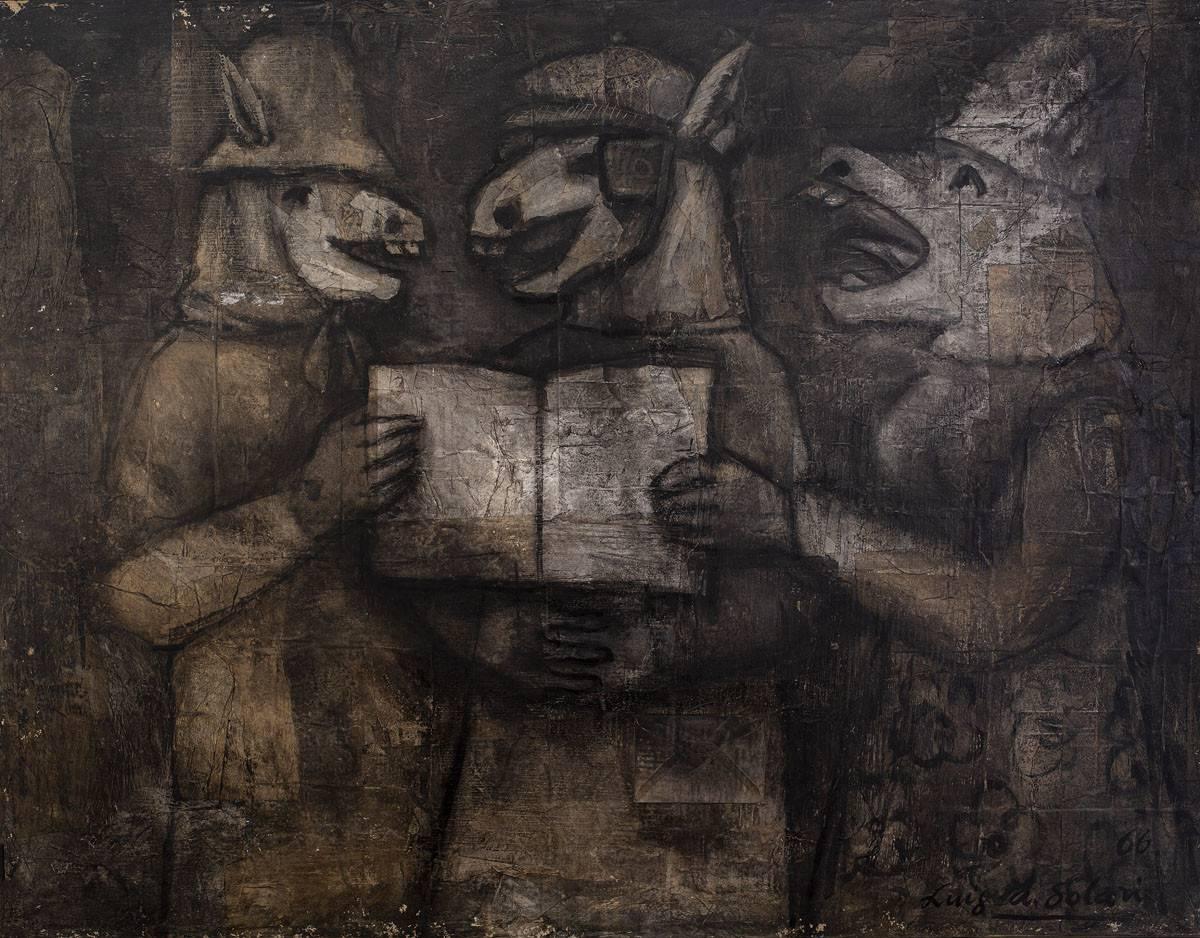 Obra ampliada: Cantores y su tonada - Luis A. Solari