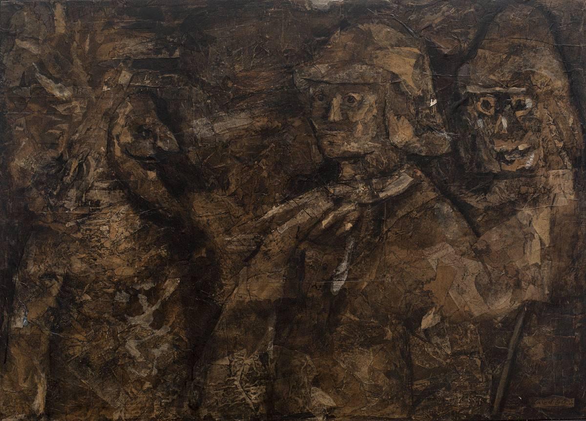Obra ampliada: El Caballero, La Muerte y El Diablo - Luis A. Solari
