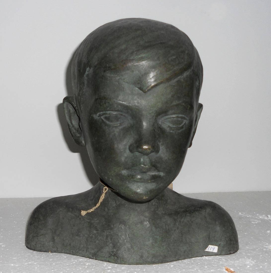 Obra ampliada: Cabeza de niño - Guillermo Andrada