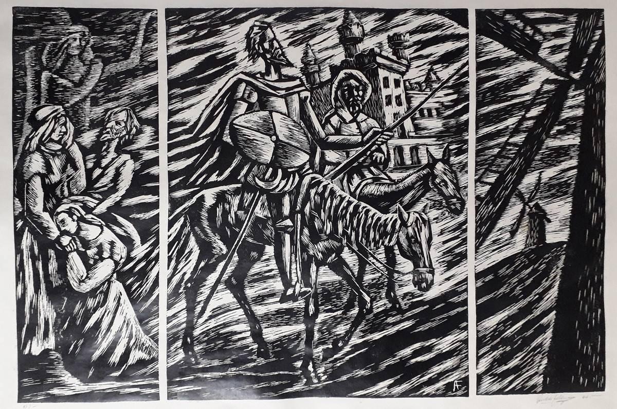 Obra ampliada: Tríptico cervantino - Andrés Feldman