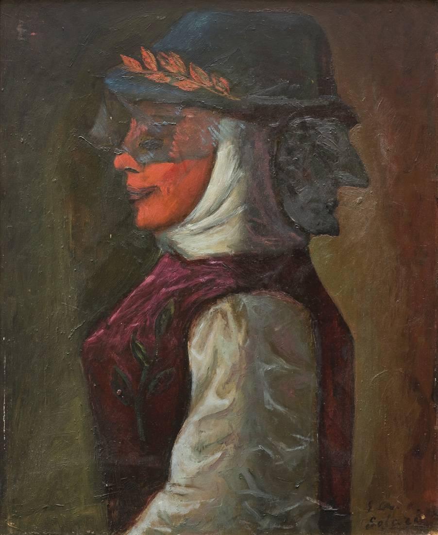 Obra ampliada: Extraña máscara - Luis A. Solari