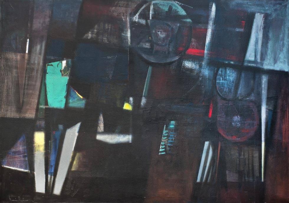 Obra ampliada: Pintura - Oscar García Reino