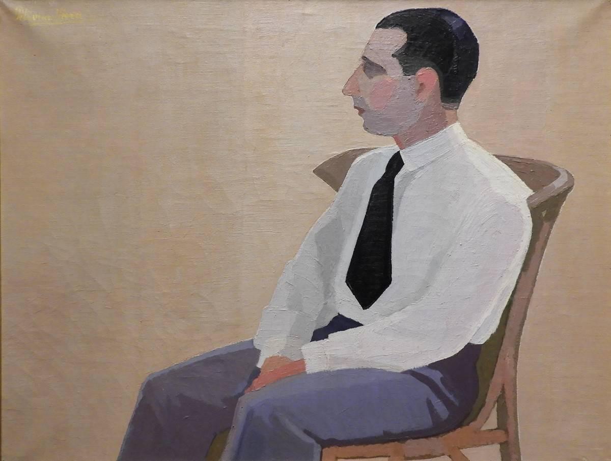 Obra ampliada: Retrato de Luis E. Pombo - Petrona Viera