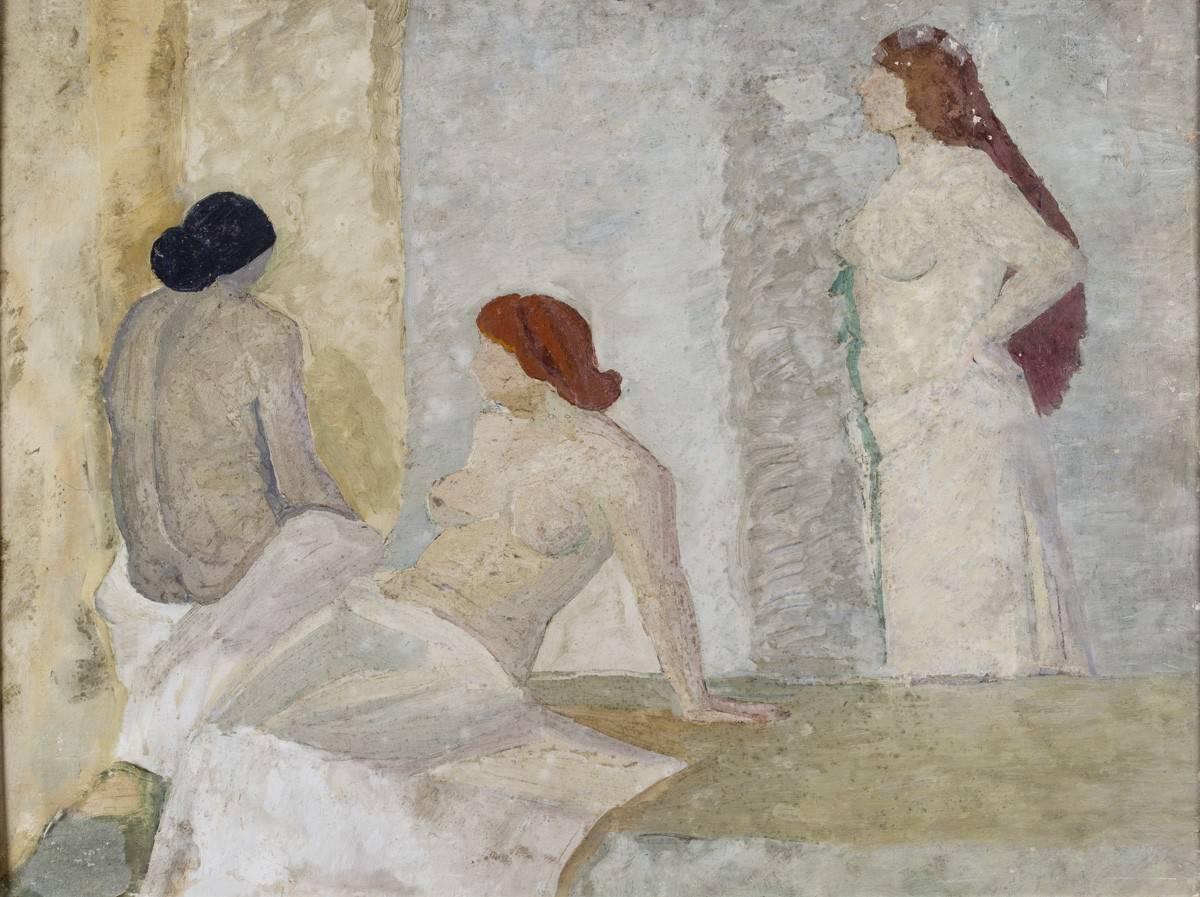 Obra ampliada: Desnudos - Petrona Viera