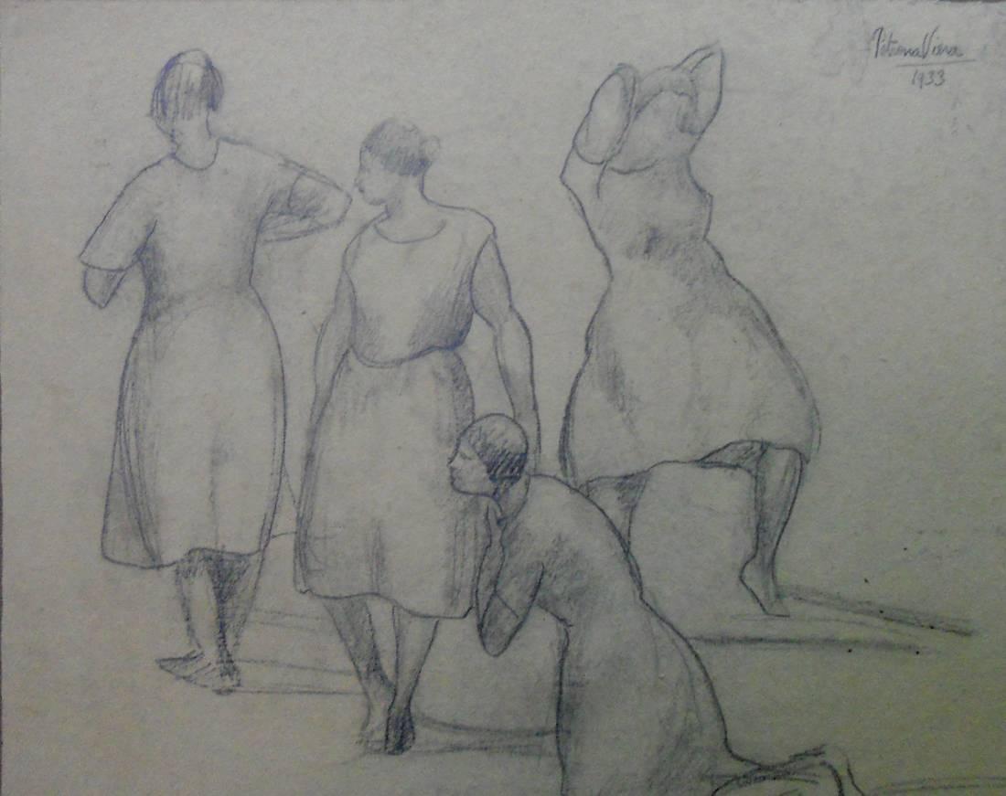 Obra ampliada: Figuras - Petrona Viera