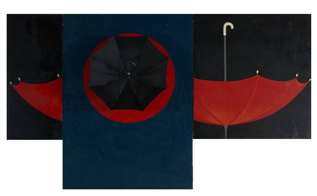 Obra ampliada: Paraguas I - Ruisdael Suárez