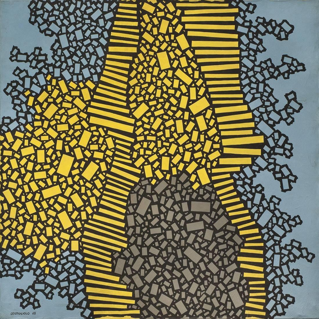Obra ampliada: Rectangulos LXVIII - José Pedro Costigliolo