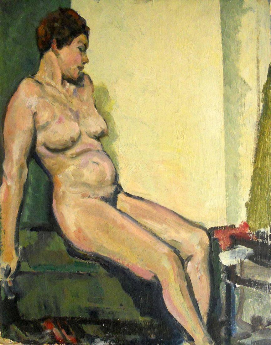 Obra ampliada: Desnudo - Nicolás Urta