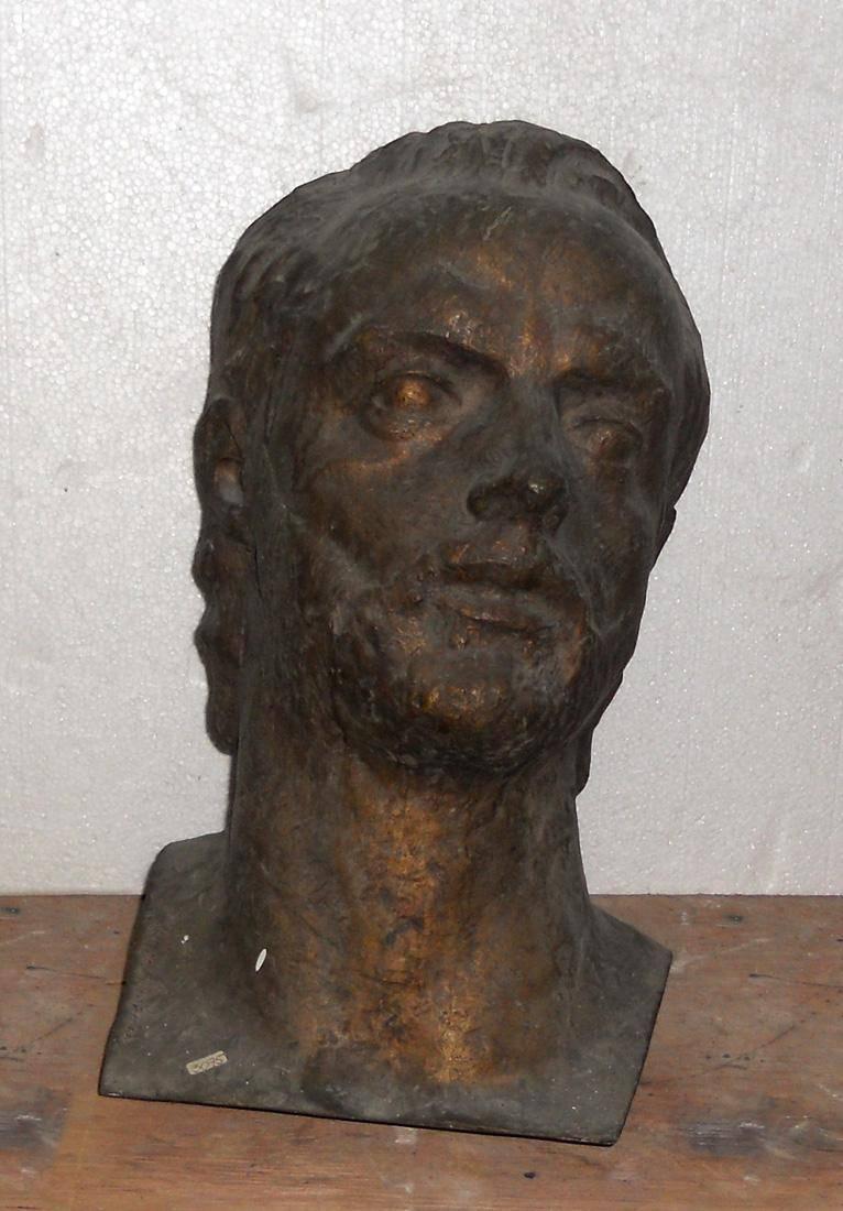 Obra ampliada: Retrato del poeta Emilio Oribe - Bernabé Michelena