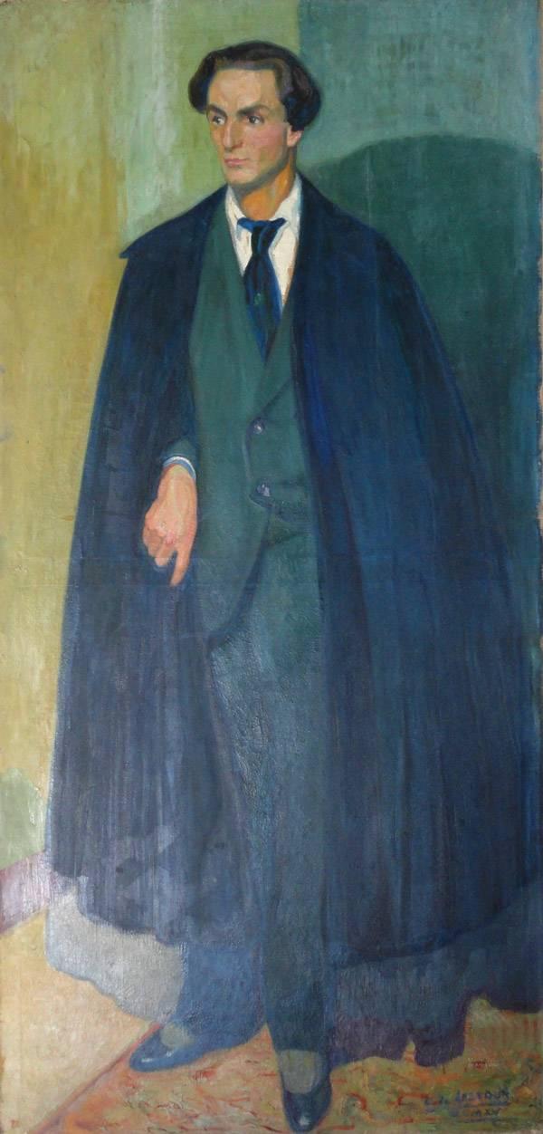Obra ampliada: Retrato - Carmelo de Arzadun