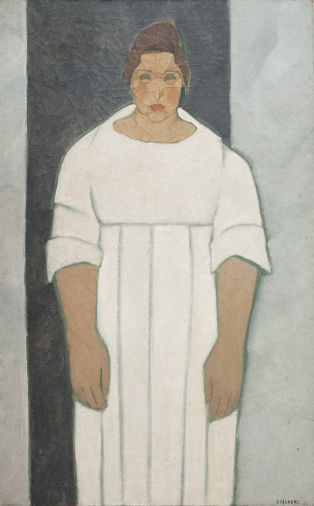 Obra ampliada: Retrato de Pilar - Rafael Barradas