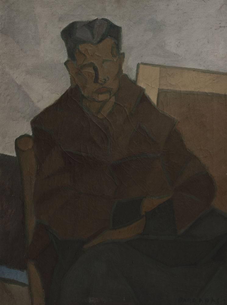 Obra ampliada: Retrato de la madre del pintor - Rafael Barradas