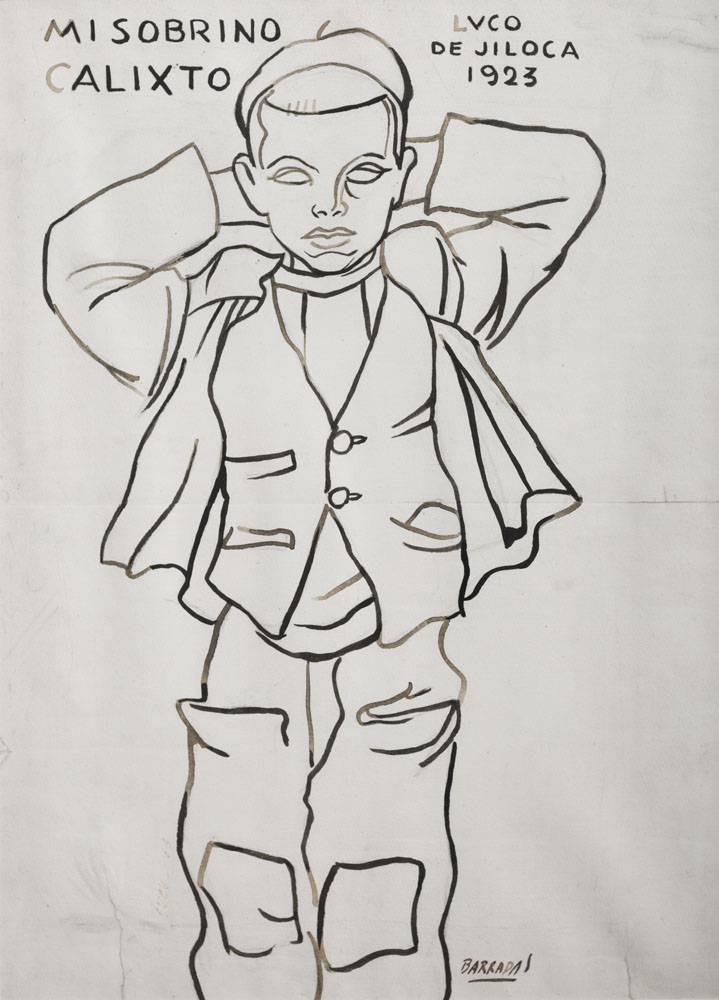 Obra ampliada: Mi sobrino Calixto - Rafael Barradas