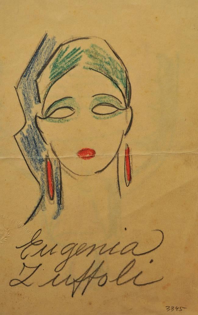 Obra ampliada: Eugenia Zuffoli - Rafael Barradas