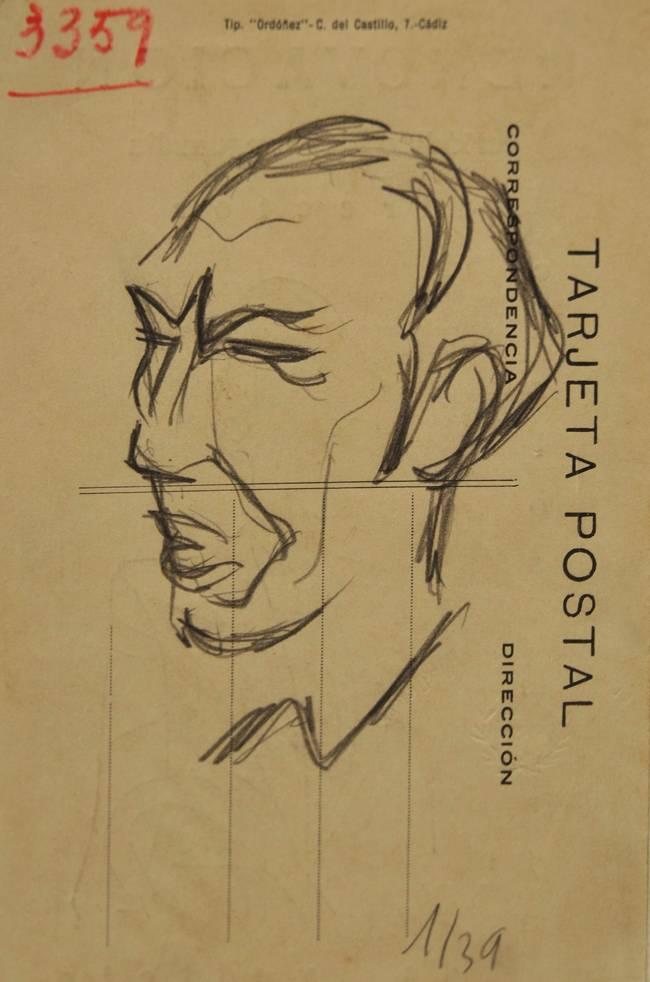 Obra ampliada: Croquis y caricatura - Rafael Barradas