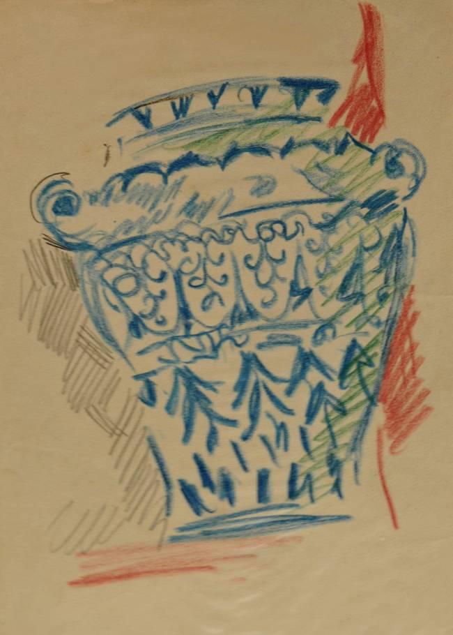 Obra ampliada: Dibujo - Rafael Barradas