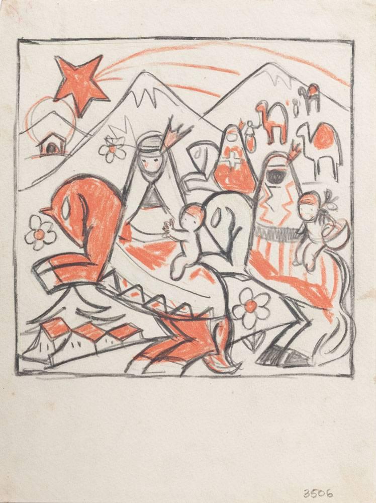 Obra ampliada: Ilustración - Rafael Barradas