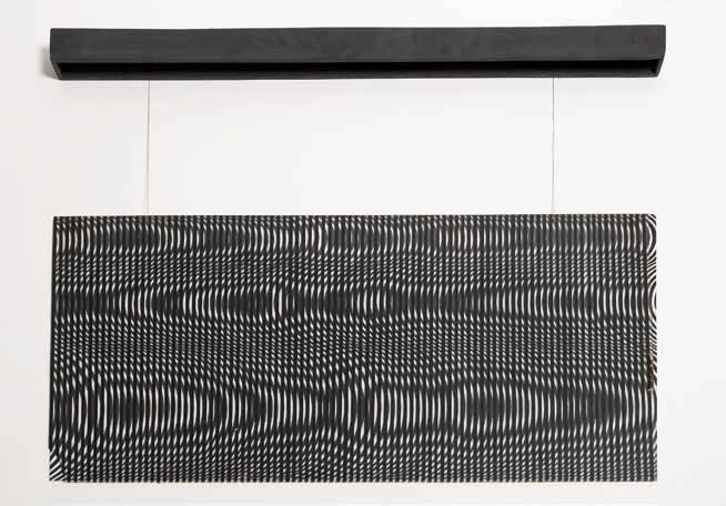 Obra ampliada: Destrucción de la singularidad de la forma por la repetición - Oscar Jorge Caraballo