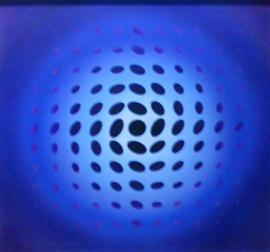 Obra ampliada: Azul - Enrique Medina Ramela