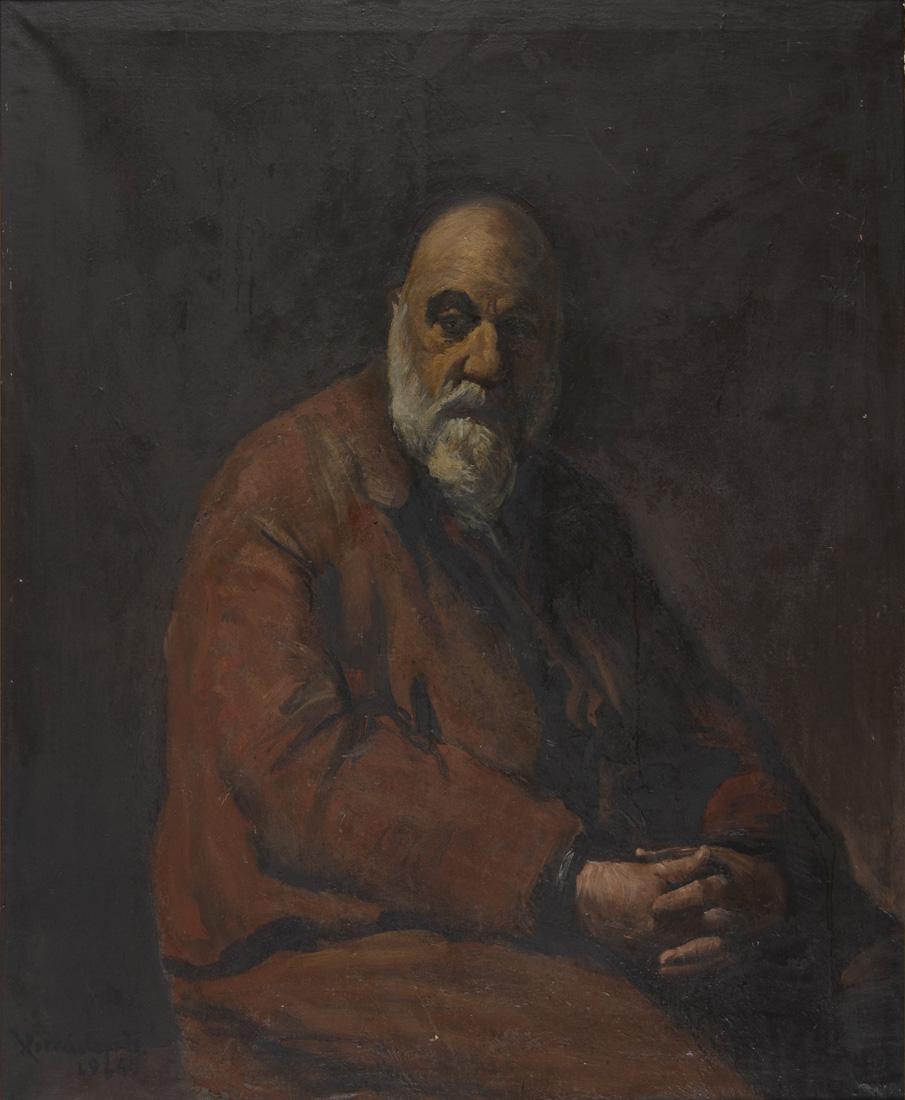Obra ampliada: Retrato de Alfredo Cáceres - Horacio Torres