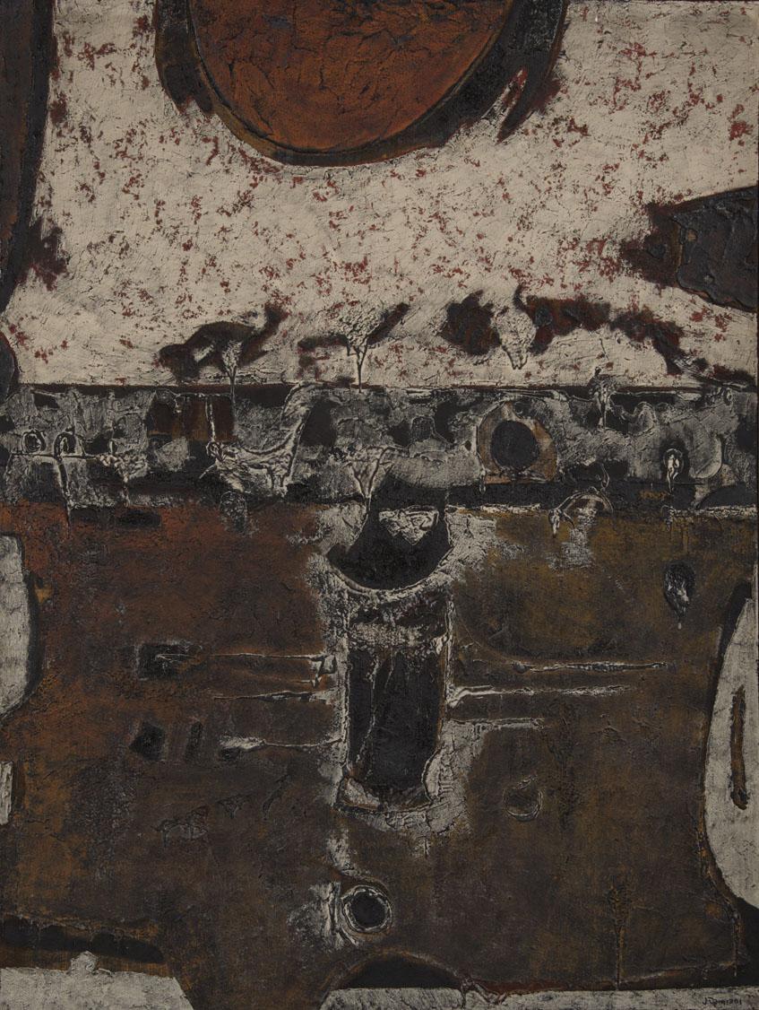 Obra ampliada: Angustia - Jorge Damiani