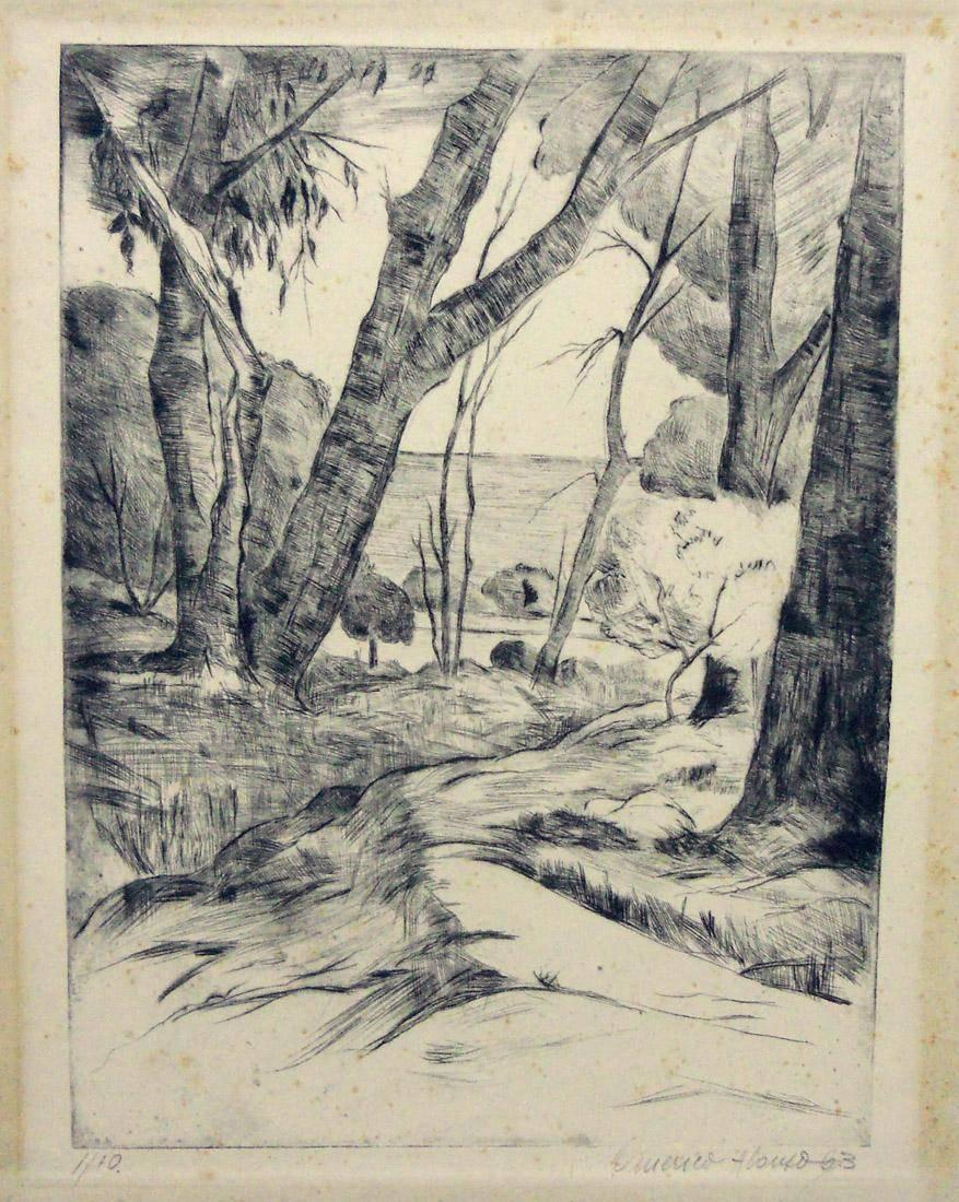 Obra ampliada: Árboles del Buceo - Américo Alonso