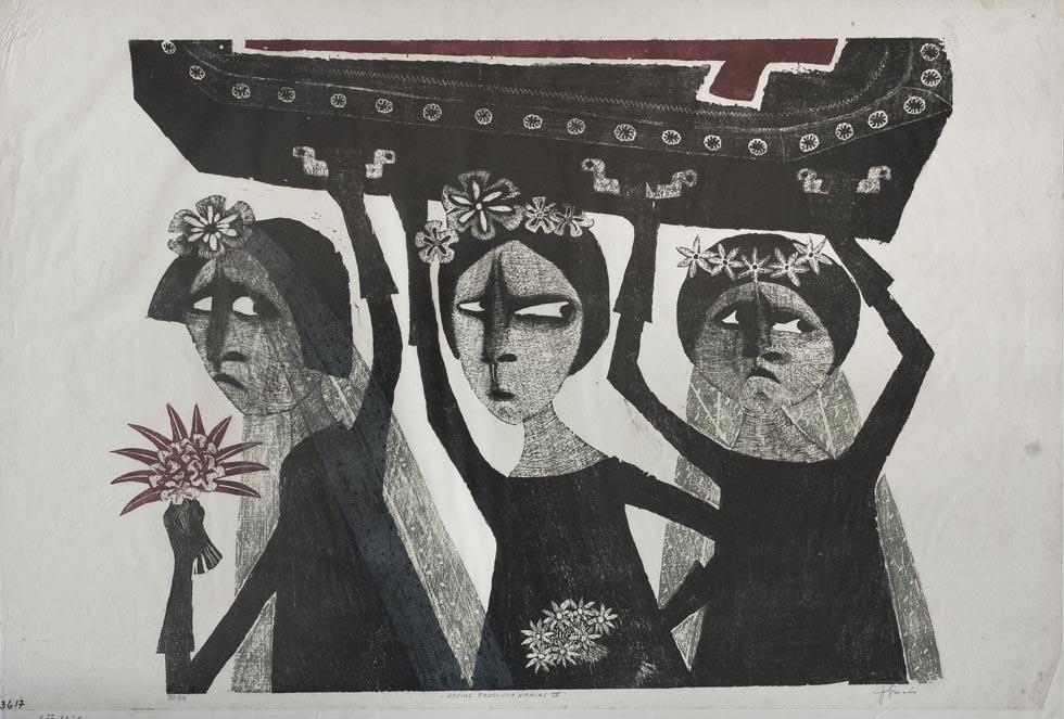 Obra ampliada: Novias revolucionarias IV - Leonilda González