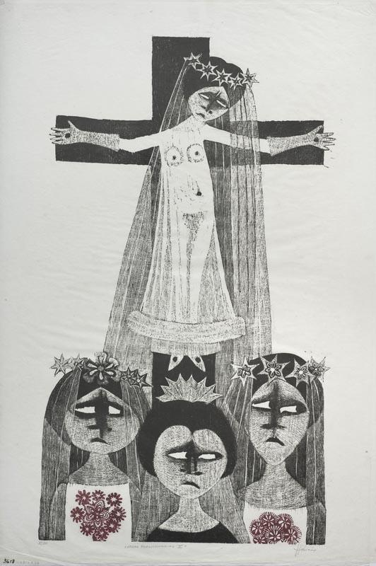 Obra ampliada: Novias revolucionarias V - Leonilda González