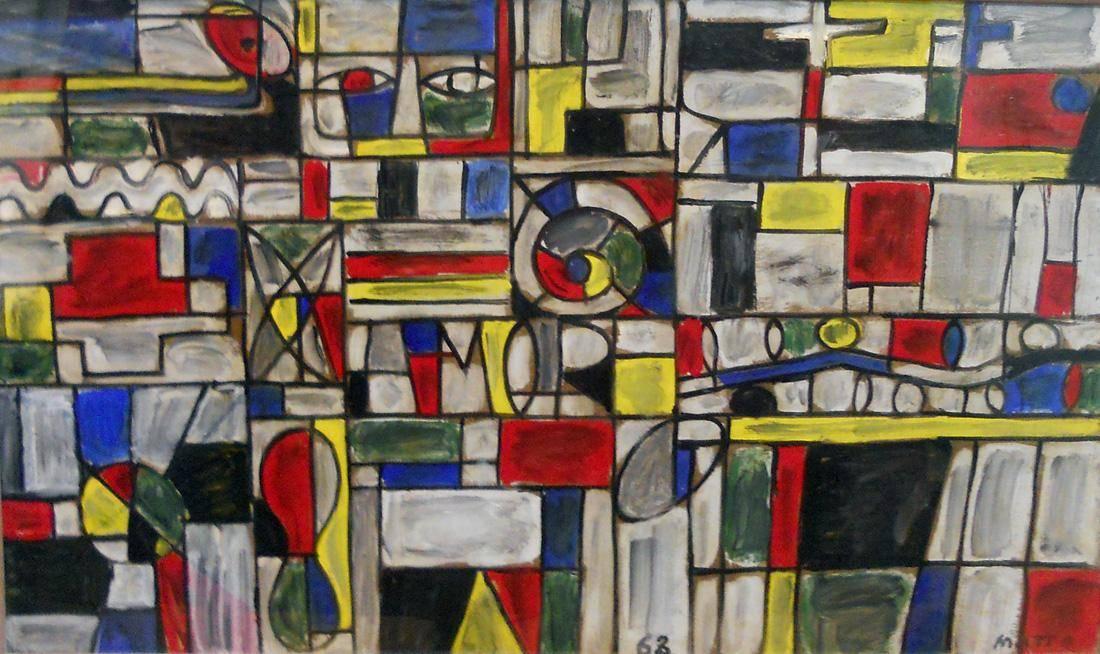 Obra ampliada: Composición constructiva - Francisco Matto