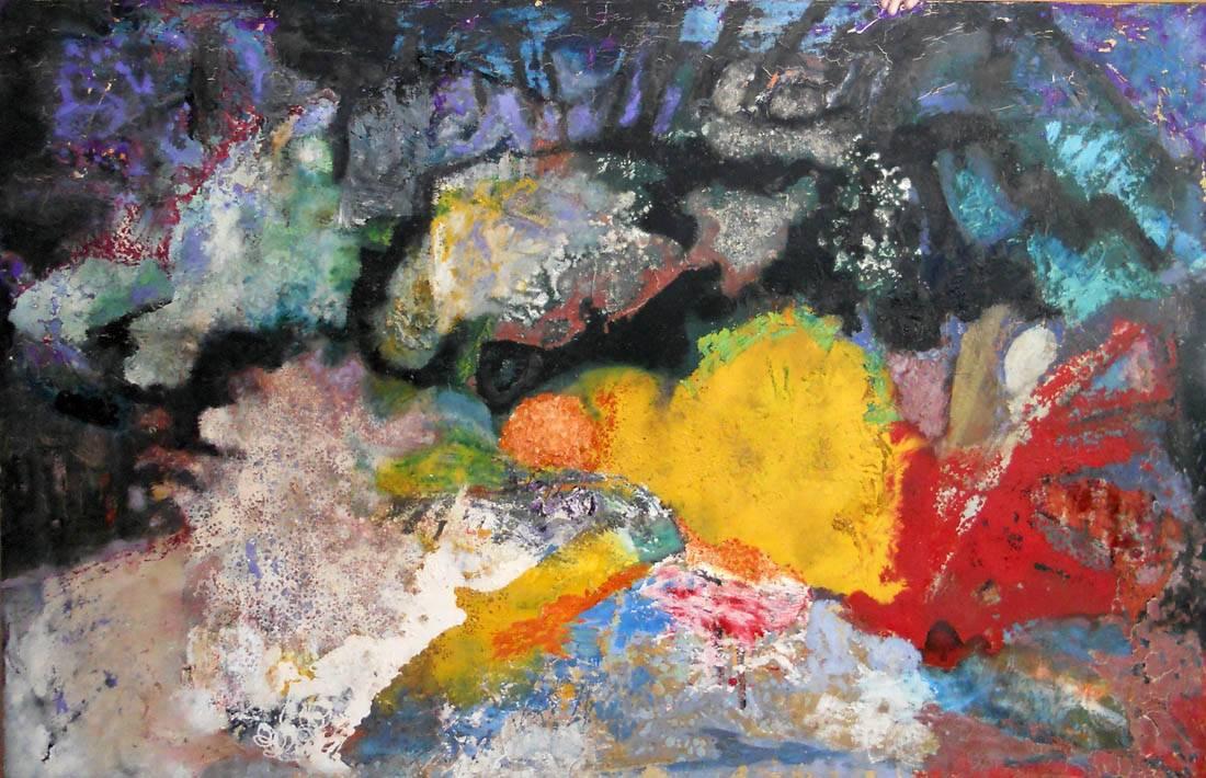 Obra ampliada: Magia rupestre - Julio Verdié