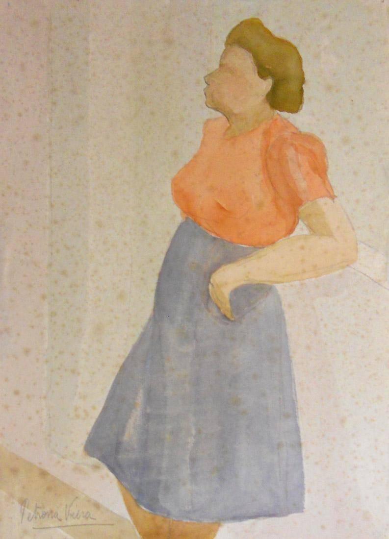 Obra ampliada: Sin título - Petrona Viera