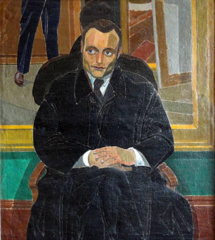 Obra ampliada: Retrato de Manuel de Castro - José Cuneo