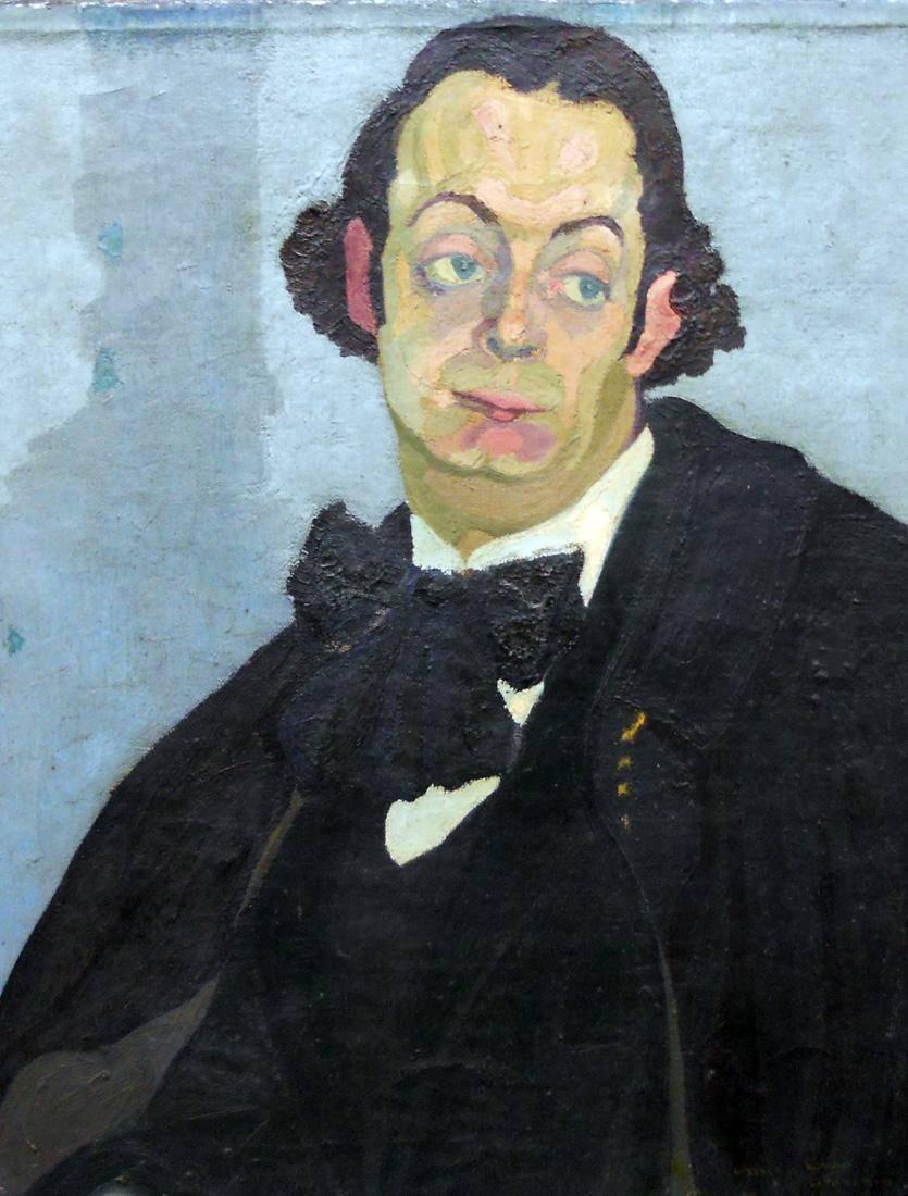 Obra ampliada: Retrato de Ciro Scosería - José Cuneo