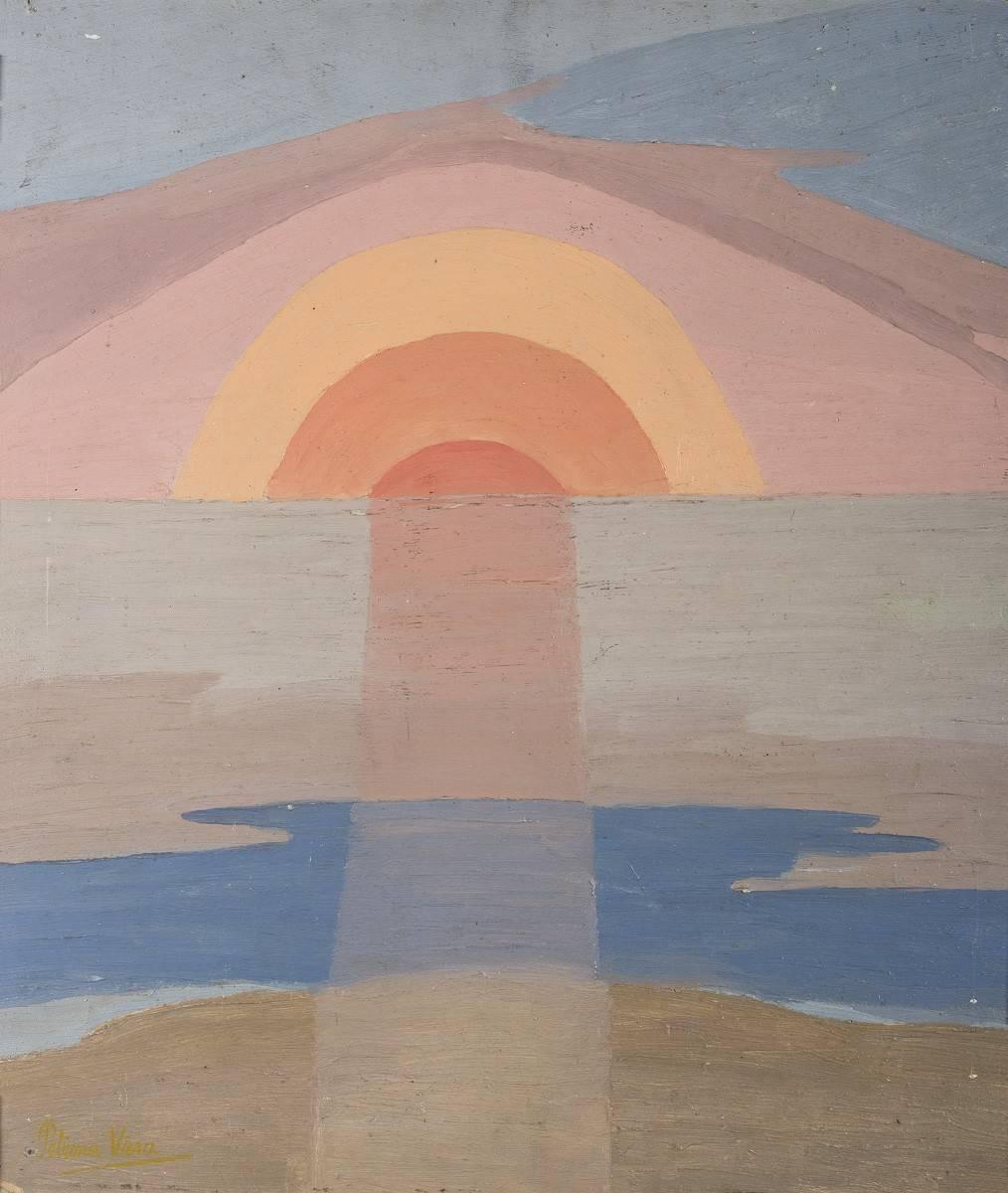 Obra ampliada: Puesta de sol - Petrona Viera