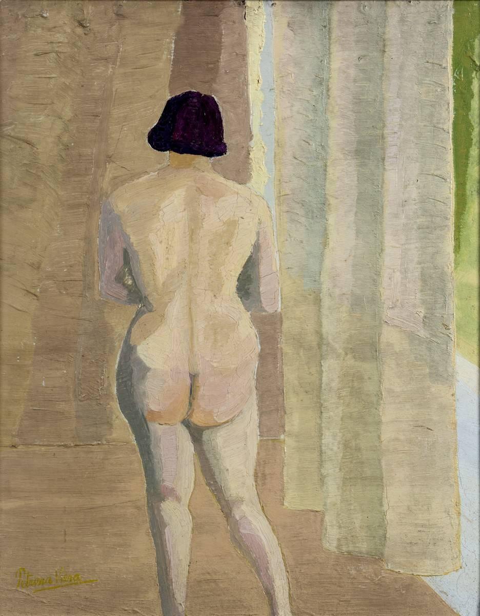 Obra ampliada: Desnudo - Petrona Viera